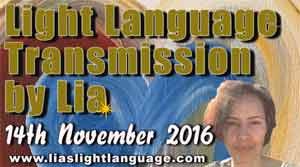 Light Language Communication by Lia Livani 14th November 2016