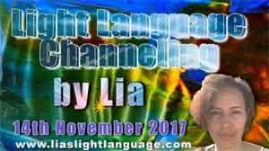 Light Language Transmission by Lia Livani 14th November 2017