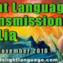 Light Language Communication by Lia Livani 22nd November 2016
