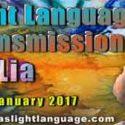 Light Language Transmission by Lia Livani 24th January 2017