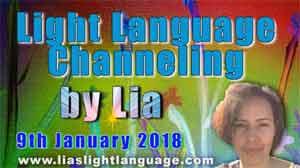 Light Language Transmission by Lia Livani 9th January 2018