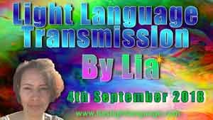 Light Language Transmission of Cosmic Love By Lia Livani 4th Sept 2018