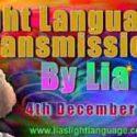 Lias Light Language 4th December 2018