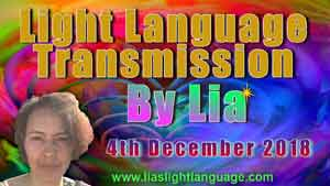 Lias Light Language 4th December 2018