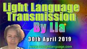 Lias Light Language 30th April 2019