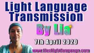 Lia Livani Light Language Transmission for 7th April 2020