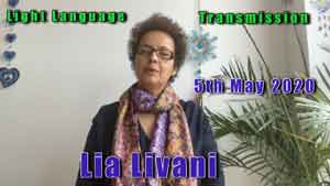 Lia Livani Light Language Transmission for 5th May 2020