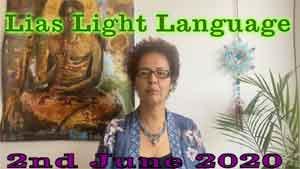 Lia Livani Light Language Transmission for 2nd June 2020