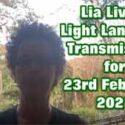 Lia Livani Light Language Transmission for 23rd February 2021